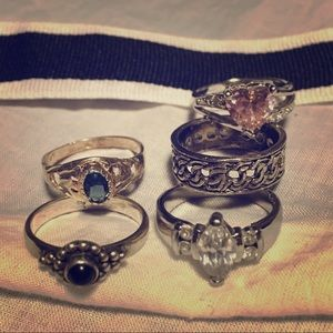 Fashion rings bundle!